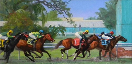 At the New Orleans Racetrack- AVAILABLE