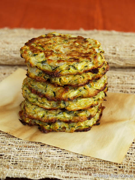zucchini fritters | ginger bear kitchen