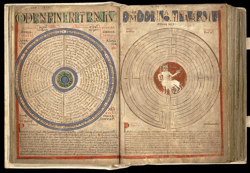 001-Liber floridus – siglo XII-Biblioteca de la Universidad de Gent -Licencia Creative Commons (CC BY-NC-SA 2.0)