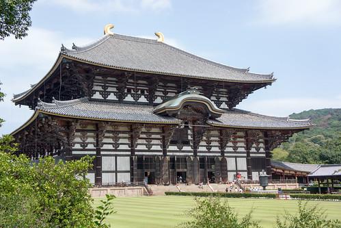 這就是東大寺了~