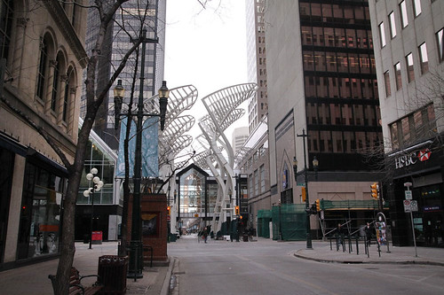 Streets in Calgary