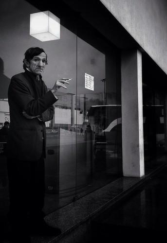 The smoker man.