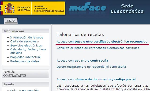 Imagen Acceso al trámite Talonarios de recetas
