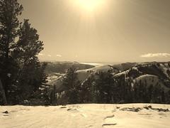 A Monday at Powder Mountain.