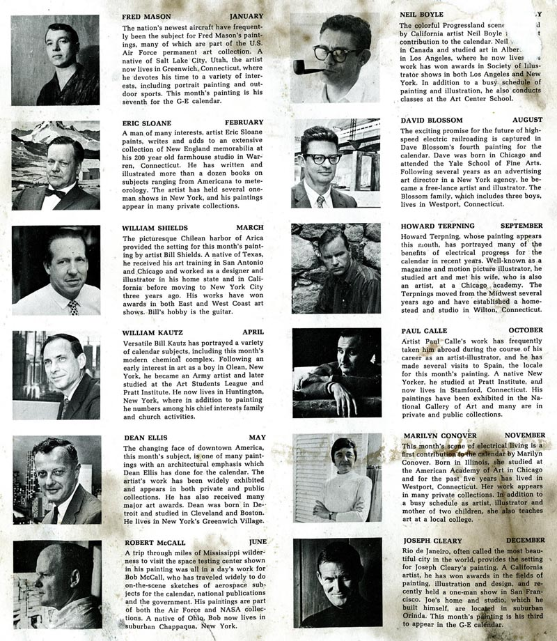 GE1967calendarArtistBios