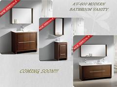AV-600 Modern Bathroom Vanity