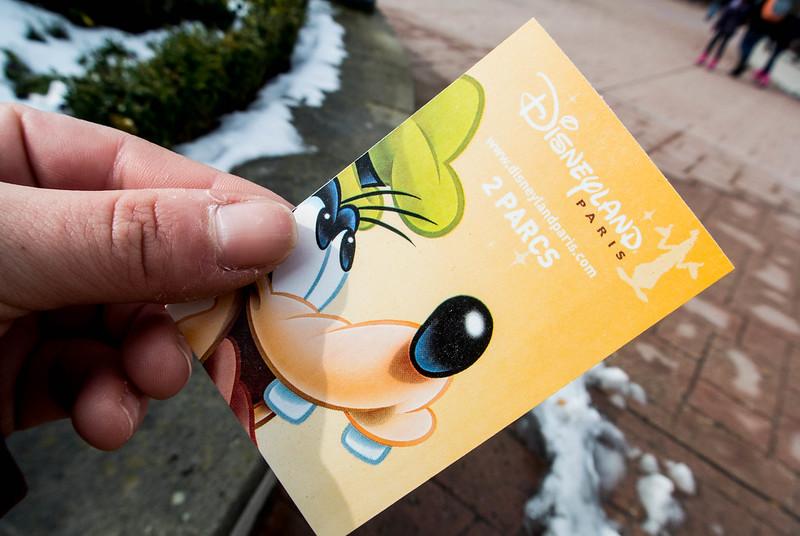 Disneyland Paris Admission