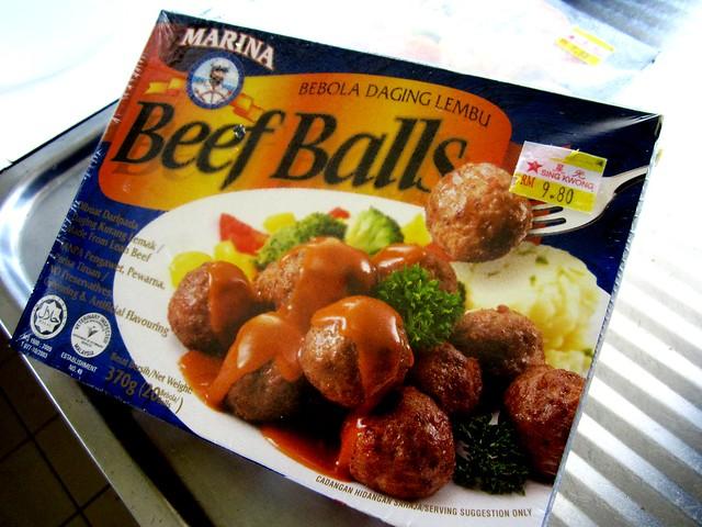 Marina beef balls