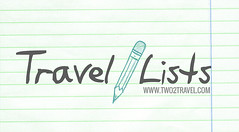 TRAVEL LISTS - TWO2TRAVEL