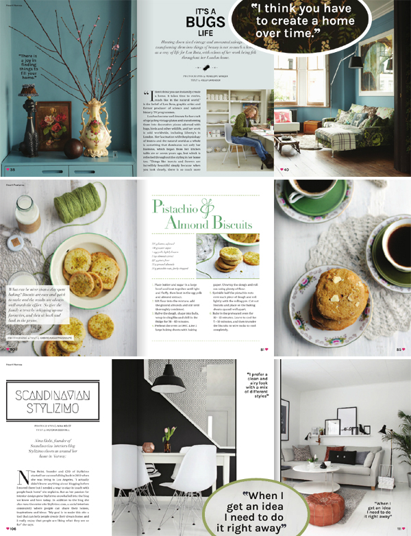Heart Home magazine, Spring 2013 | Emma Lamb