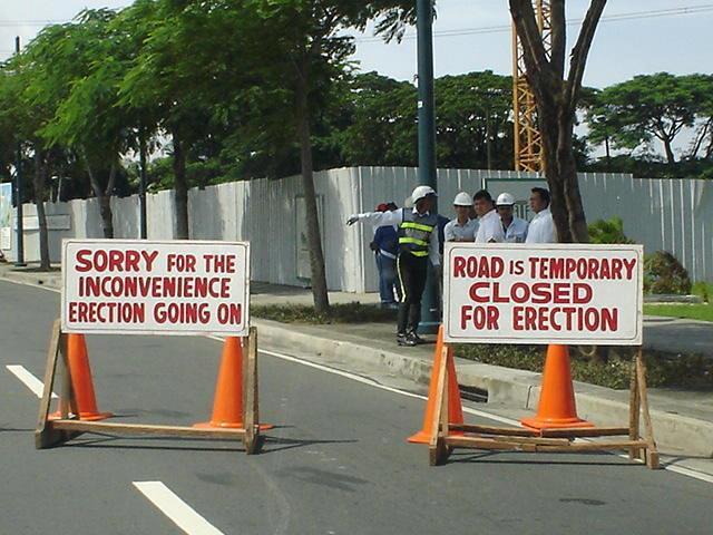 Road Erection