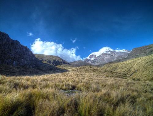 landscape ecuador paisaje paisagem volcanoes nevado volcan chimborazo