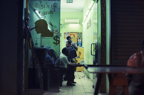 Little India Barber by Jon Siegel