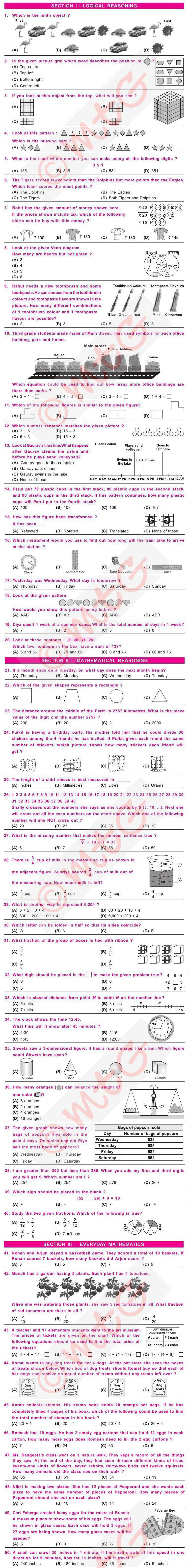 IMO 2010 Papers with Answers Class 3
