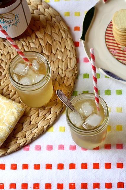 honey chamomile soda