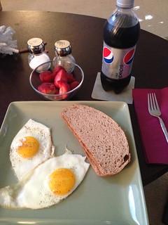 Eggs & whole wheat sourdough