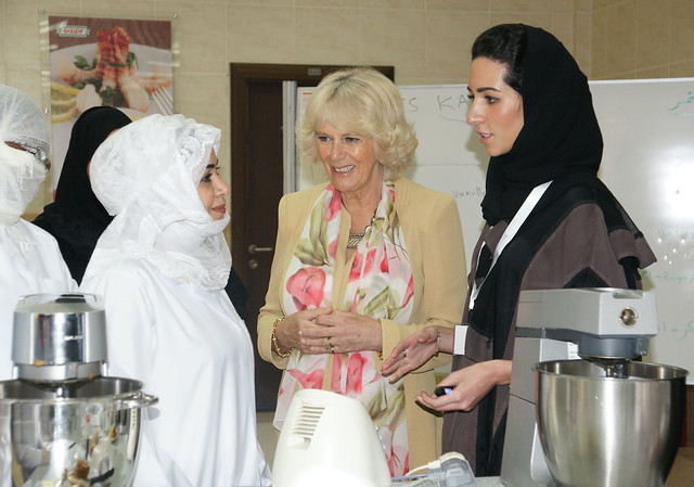 Saudi Arabia: The Duchess visits Bab Razq Jameel Centre