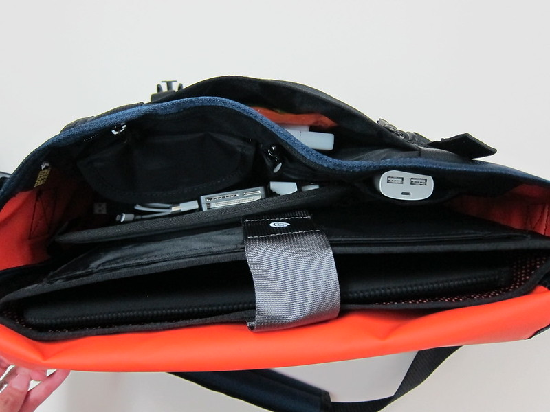 Timbuk2 Custom Laptop Messenger Bag - Inside View