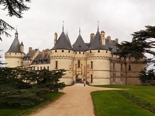 Imagen del castillo de Chaumont (Valle del Loira, Francia)