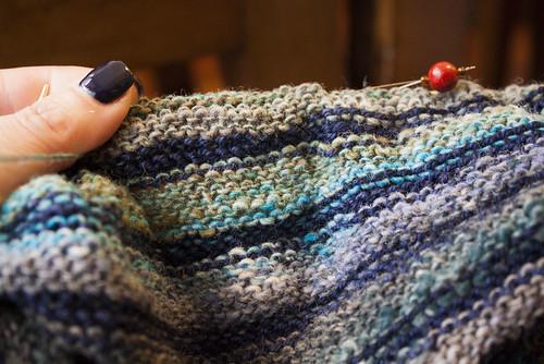 Amanhecer (shawl) - WIP