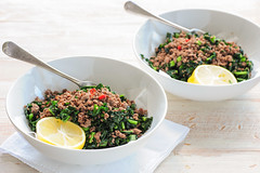 ground beef with kale-3