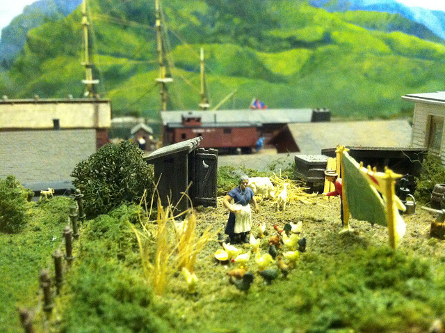 A vignette from Miniature World