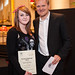 Design Challenge - Kasper Holten and winner Rhona-Anne Breeze © Mat Smith/ROH 2013