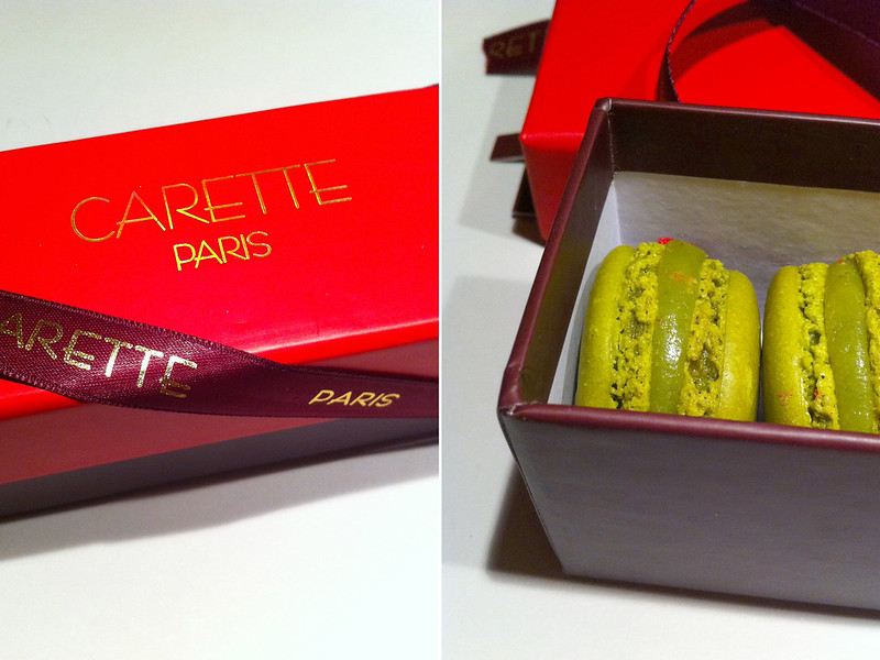 carette, paris, macarons