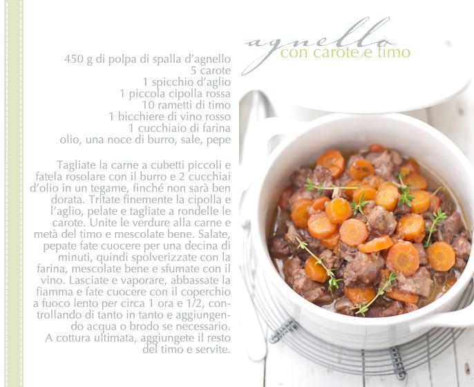 agnello ricetta