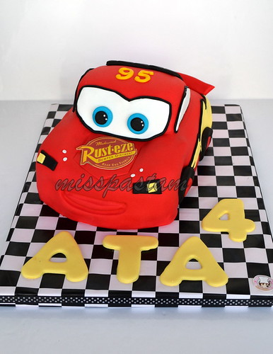 3D cars cake by MİSSPASTAM