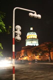 Capitolio de Havana à noite, Cuba