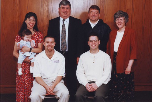 Haddix, Scott & wife, Hamilton, Bud, Pratt, Bruce, Saddington, Agnes, &