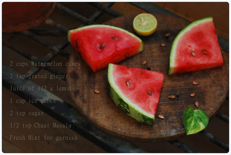 Watermelon Lemonade | Ingredients
