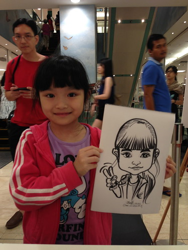 caricature live sketching for Takashimaya Good Friday Special - 36
