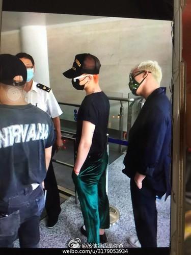 BIGBANG Arrival Dalian from Seoul 2015-06-26 159