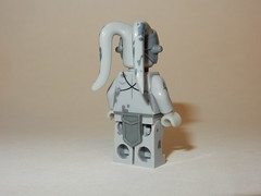 Star Wars Zombie Twi'Lek Back (Machine Printed)