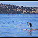 Working it at Alki Beach -West Seattle by Contrails