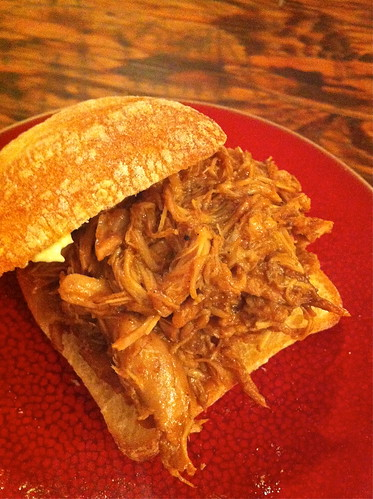 Pulled Pork sandwich by Greg