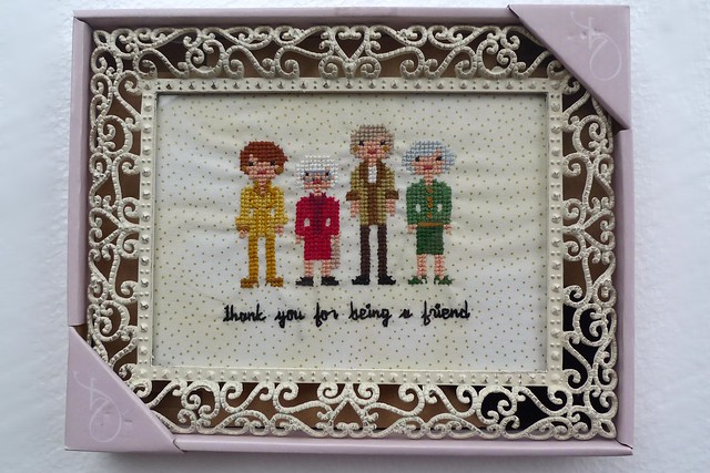 golden girls cross stitch