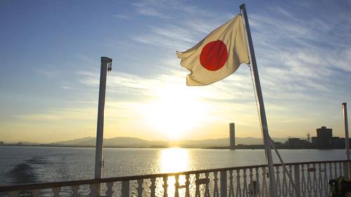 琵琶湖 初日の出クルーズ(琵琶湖汽船「ミシガン」)