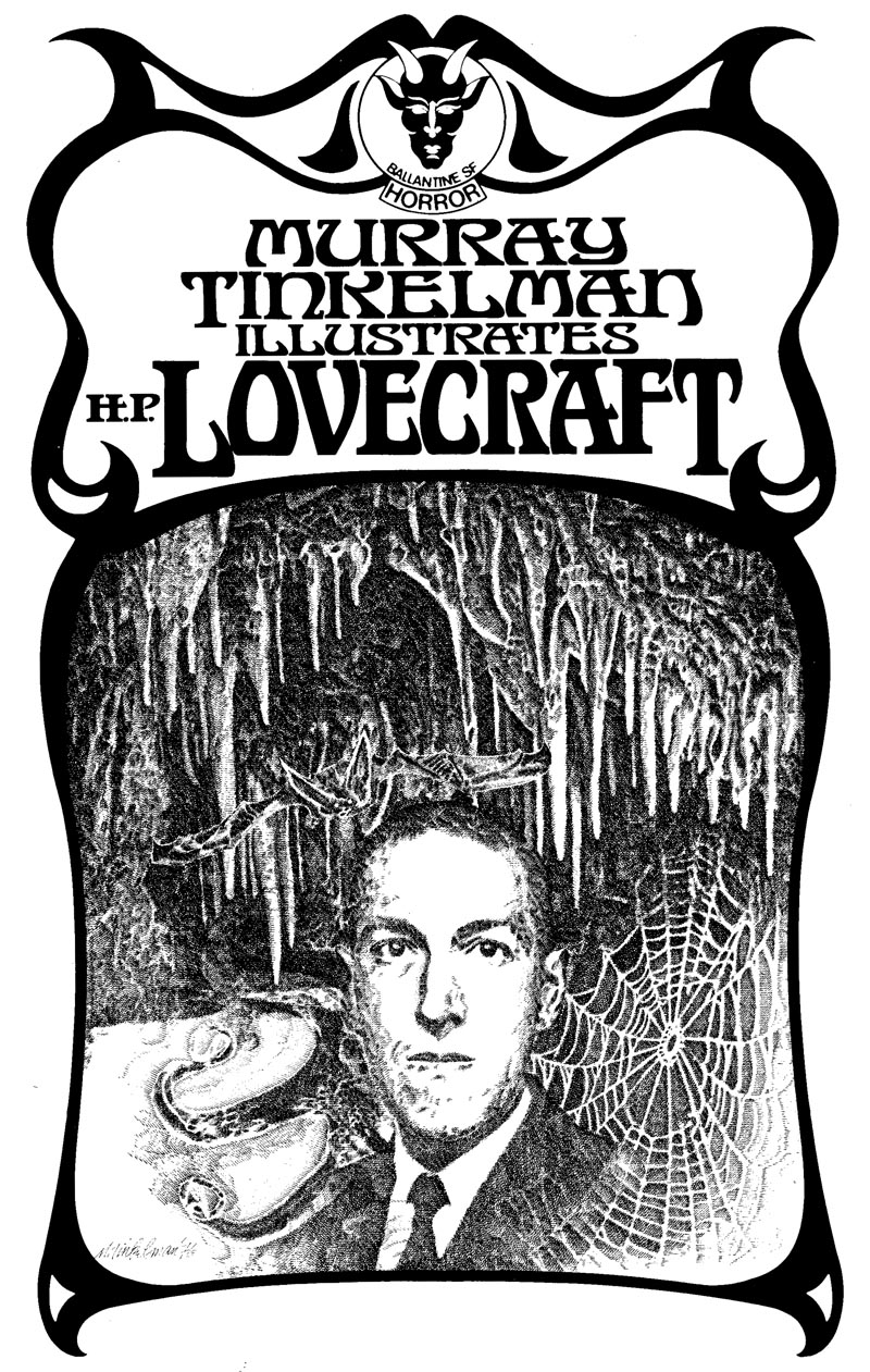 Murray Tinkelman - H.P Lovecraft Illustration 5