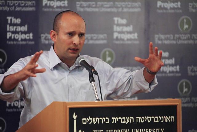 Naftali Bennett, leader du parti national-religieux