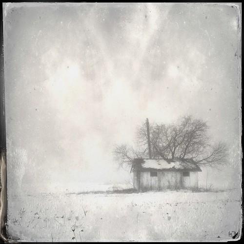 winter blackandwhite snow hipstamatic poproxflash gsquadlens dtypeplatefilm