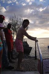 David diving?
