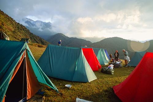 nepal camp velvia easternregion dobhane