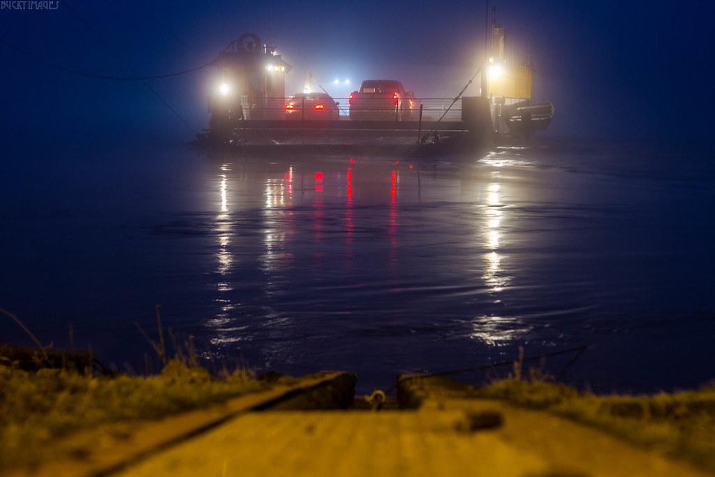 Fog & Ferry.