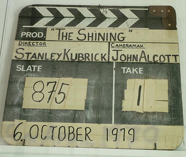 Kubrick Кубрик Хлопушка, фильм Сияние