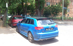 executive car(0.0), audi a3(0.0), automobile(1.0), automotive exterior(1.0), audi(1.0), family car(1.0), wheel(1.0), vehicle(1.0), audi s3(1.0), compact car(1.0), bumper(1.0), land vehicle(1.0), hatchback(1.0),