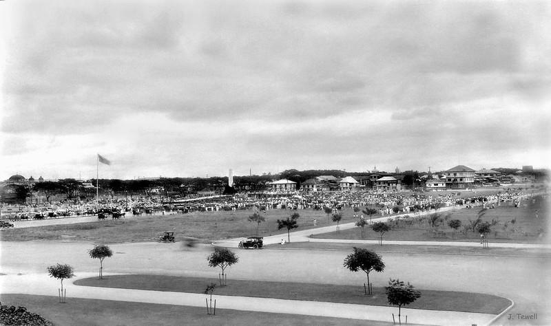 Unveiling Jose Rizal Monument, Luneta (Rizal) Park, Manila, Philippines, December 30, 1913