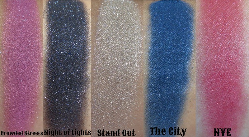 Venomous Cosmetics 2013 Collection Eyeshadows Collage